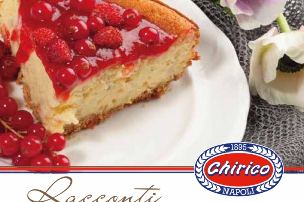 Chirico- Racconti di grano presenta CHEESECAKE LIGHT