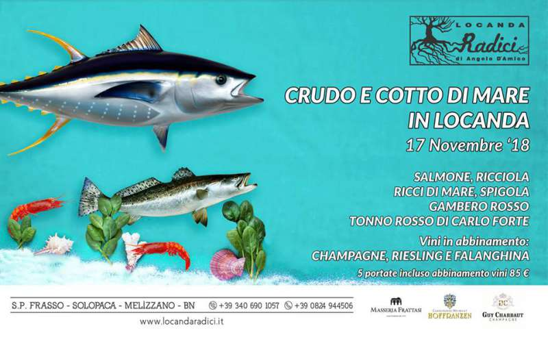 Crudo e cotto di mare