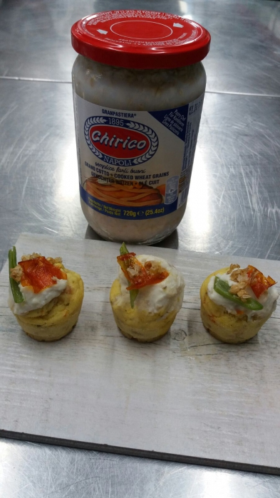 Muffin Salati Con Grano Yogurt E Cipollina Mysocialrecipe