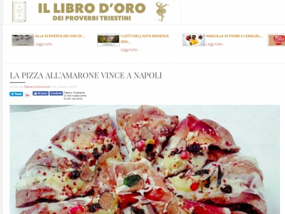 LA PIZZA ALL'AMARONE VINCE A NAPOLI