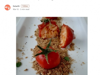 Host recipe: Gaetano's Pomodorini di Riso (rice stuffed tomatoes)