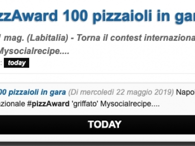 Food | a pizzAward 100 pizzaioli in gara